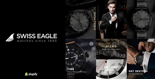 Swiss Eagle | Shopify Watch Store - Technology Shopify