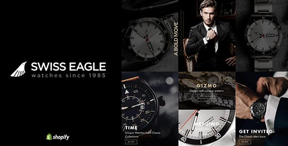Swiss Eagle | Shopify Watch Store