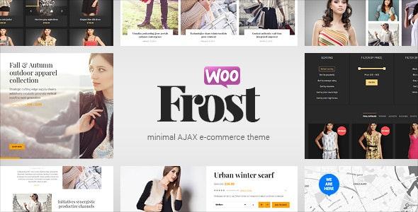 Frost - Minimal AJAX WooCommerce Theme - WooCommerce eCommerce