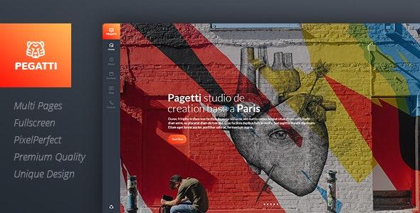 Pagetti - Fullscreen Portfolio Template - Portfolio Creative