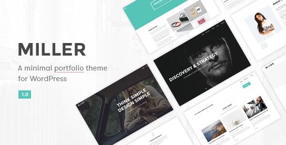 Miller - Multipurpose WordPress Theme - Business Corporate