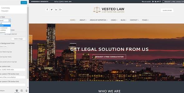 Vesteo Business Multi-Purpose Responsive Theme