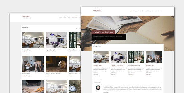 Inspire - Business WordPress Theme - Business Corporate