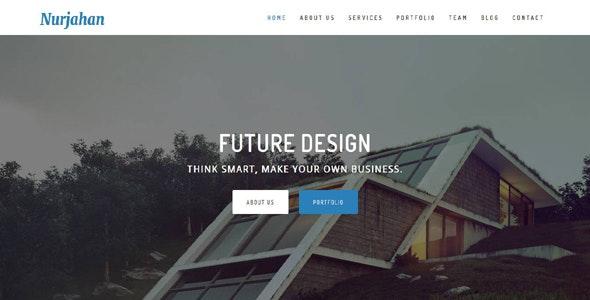 Nurjahan - Creative Architecture & Interior HTML5 Template - Business Corporate