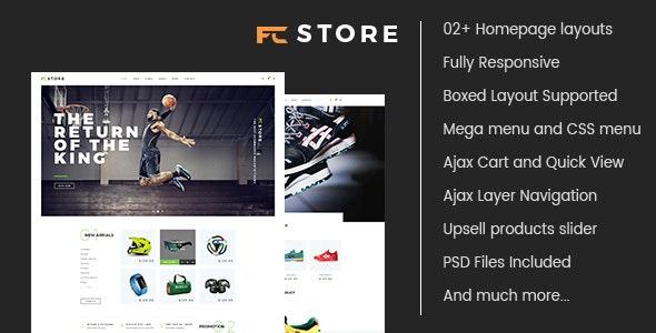 FCstore - Multipurpose Responsive Magento Theme - Shopping Magento