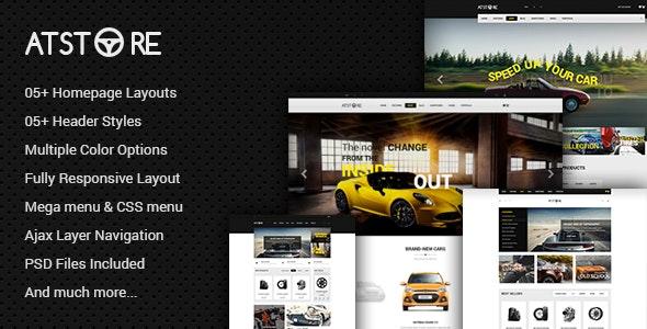 ATstore - Multipurpose Responsive Magento Theme - Shopping Magento