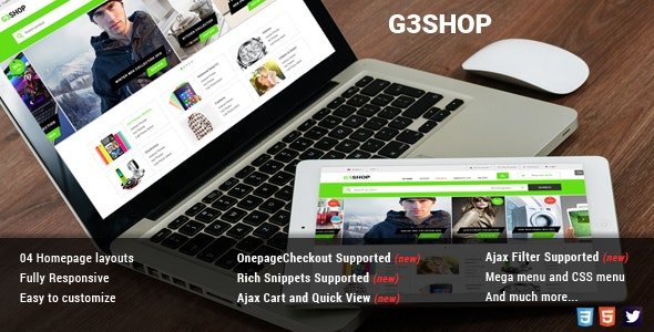 G3Shop - Multipurpose Magento Theme - Shopping Magento