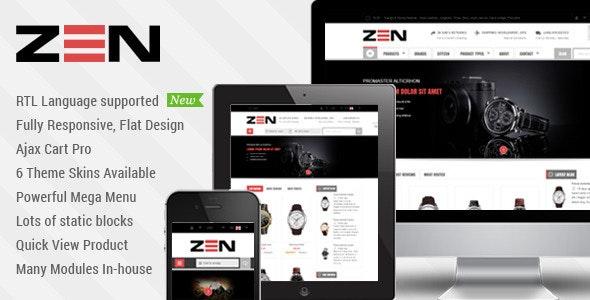SM Zen - Responsive Multi-Store Magento Theme - Shopping Magento