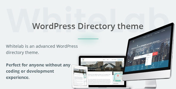 WhiteLab - WordPress Directory Theme - Directory & Listings Corporate