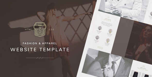 TS - Fashion & Apparel Store Website Template - Fashion Retail