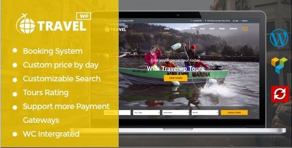 Travel Tour Booking WordPress Theme