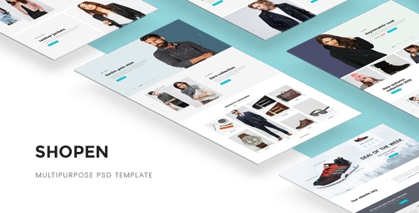 Shopen — Multipurpose PSD Template - Miscellaneous Photoshop