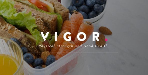 Vigor - A Responsive News Magazine Blog WordPress Theme - Blog / Magazine WordPress