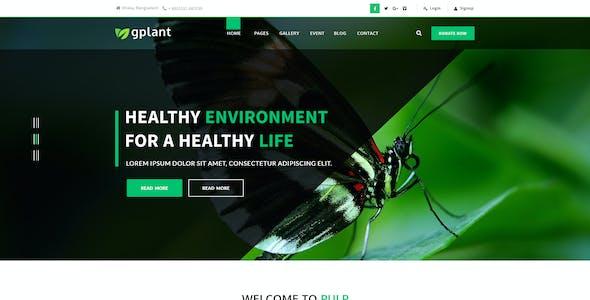gPlant - Multipurpose ECO, Natural & Environmental PSD Template