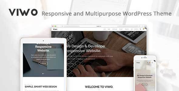Viwo - Responsive and Multipurpose Theme - Corporate WordPress