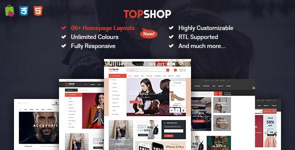 Topshop - Premium Responsive Prestashop Theme - Shopping PrestaShop