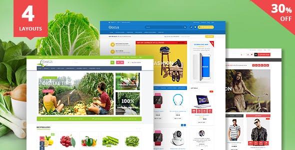 Crocus - Electronics Store Responsive OpenCart Theme