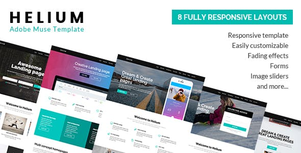 Download Helium - 8 in 1 Marketing Muse Template