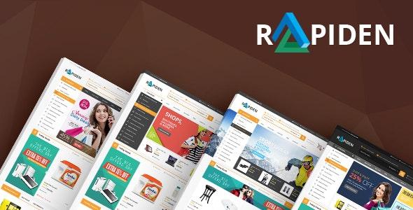 Rapiden - Electronics Fashion Store HTML Template - Shopping Retail