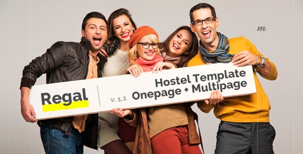 Regal - Hostel Template - Travel Retail
