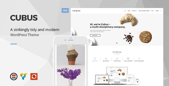 Cubus - Responsive Business WordPress Theme - Business Corporate