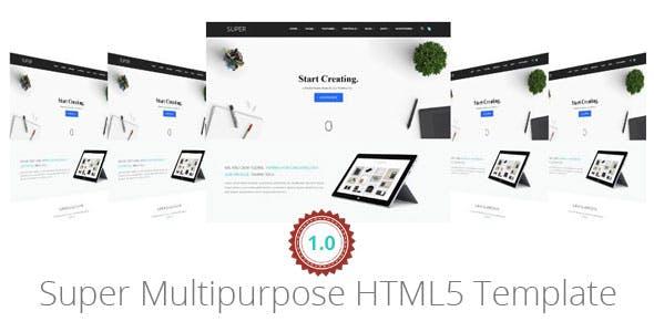 Super Multipurpose HTML5 Template