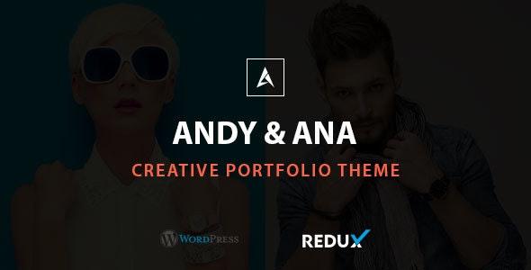 Andy & Ana Creative Portfolio Theme - Portfolio Creative
