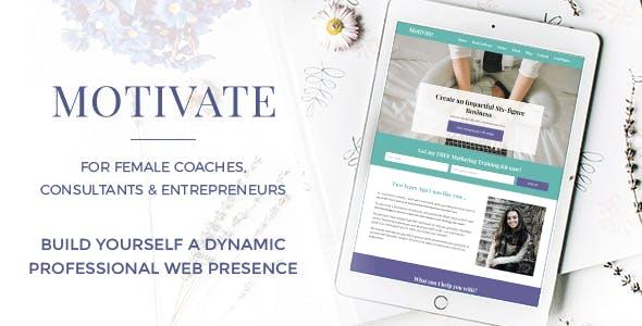 Motivate - For Female Coaches, Consultants & Entrepreneurs