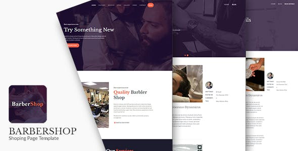 BarberShop - Salon, Spa & Barber Website Template