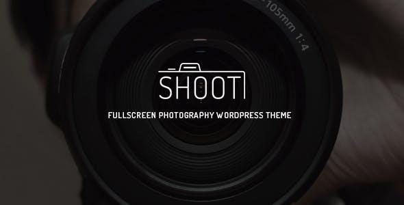 Shoot - Fullscreen Photography WordPress Theme