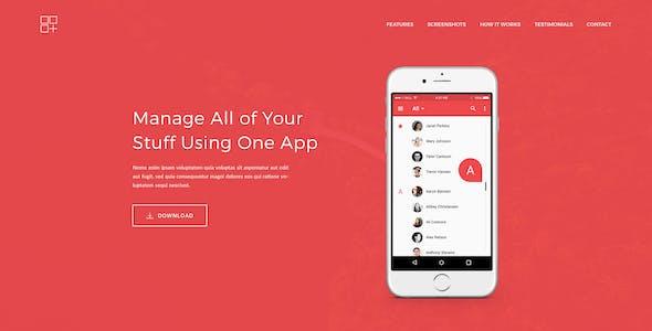 Meson - App Landing Page