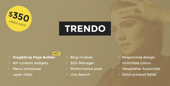 Trendo - Minimalistic Fashion Store OpenCart Theme - Fashion OpenCart