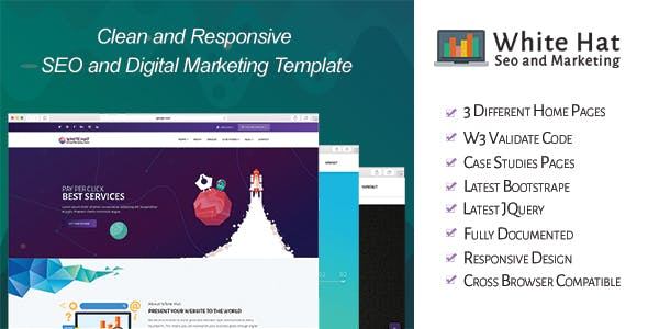 WhiteHat - SEO and Digital Marketing Template