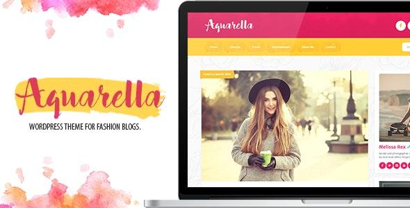 Aquarella - Lifestyle Theme for Digital Influencers, Bloggers & Travelers - Blog / Magazine WordPress