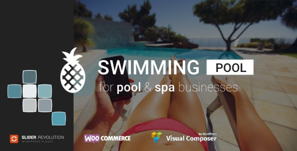 Swimming Pool and Spa - WordPress Theme - Business Corporate