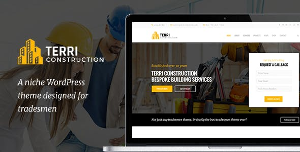 Terri - Construction WordPress Theme