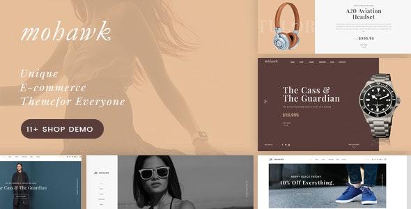 Mohawk - Multipurpose WooCommerce WordPress Theme - WooCommerce eCommerce