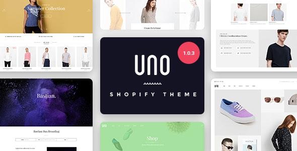 UNO - Multi Store Responsive Shopify Theme - Shopify eCommerce