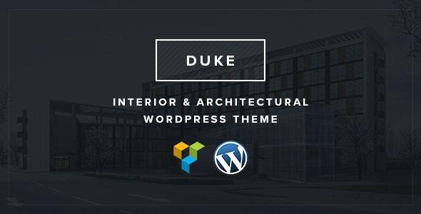 Duke - Interior & architectural WordPress theme - Creative WordPress