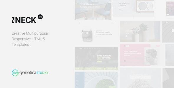 Neck - Creative multipurpose responsive HTML5 Templates - Creative Site Templates