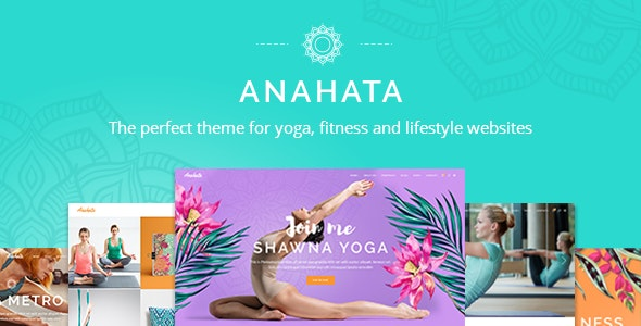 Anahata - Yoga, Fitness and Lifestyle Theme - Health & Beauty Retail