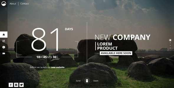 Timex - Creative Template For Coming Soon Page - Under Construction Specialty Pages