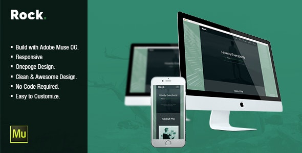 Rock - CV Resume Personal Muse Template - Personal Muse Templates