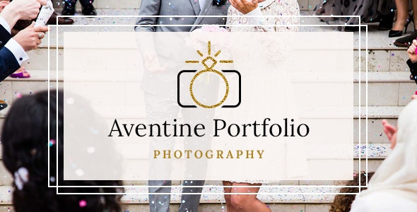 Wedding Photography Portfolio Theme - Aventine Portfolio
