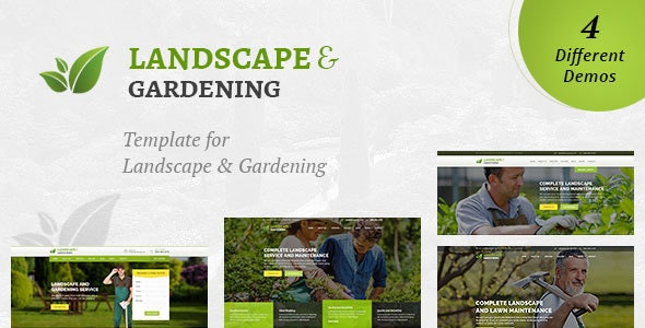 Landscaping - Landscape & Gardening HTML Template - Business Corporate