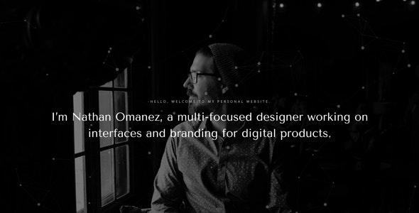 Omanez - Personal Website HTML Template - Personal Site Templates