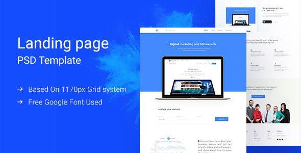 Digital Marketing Landing Page - Marketing Corporate