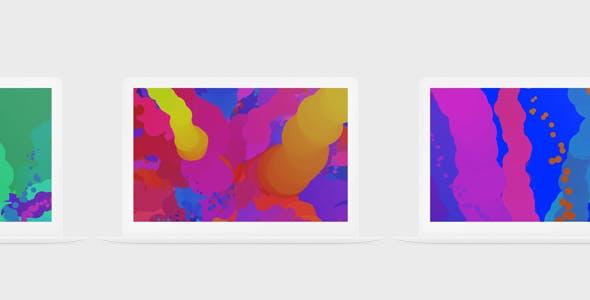Zulu – Colourful Minimalistic One-Page Template