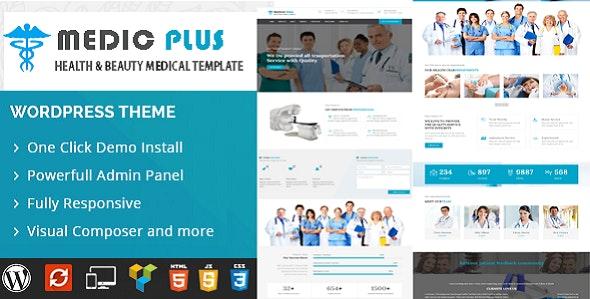 MedicPlus-Medical Theme - Business Corporate