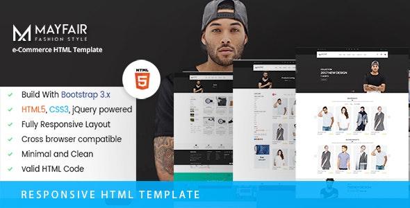 MayFair - eCommerce Fashion Template - Fashion Retail